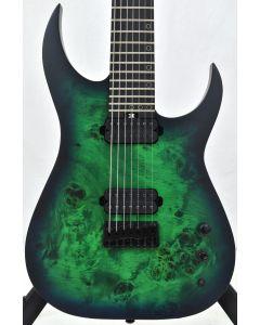 Schecter KM-7 MK-III Keith Merrow Standard Electric Guitar Toxic Smoke Green B-Stock 2511 SCHECTER831.B 2511