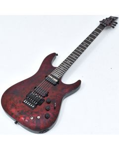 Schecter C-1 FR-S Apocalypse Electric Guitar Red Reign B-Stock 1245 SCHECTER3057.B 1245