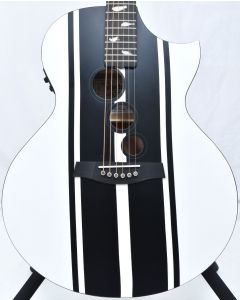 Schecter DJ Ashba Signature Acoustic Electric Guitar Satin White B-Stock 3641 SCHECTER3718.B 3641