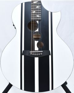 Schecter DJ Ashba Signature Acoustic Electric Guitar Satin White B-Stock 3652 SCHECTER3718.B 3652
