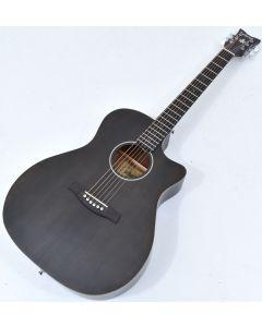 Schecter Deluxe Acoustic Guitar Satin See Thru Black B-Stock 4620 SCHECTER3716.B 4620