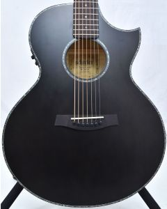 Schecter Orleans Stage-7 String Acoustic Guitar See Thru Black Satin B-Stock 1960 SCHECTER3709.B 1960