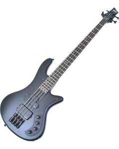 Schecter Stiletto Stealth-4 Electric Bass Satin Black B-Stock 1012 sku number SCHECTER2522.B 1012