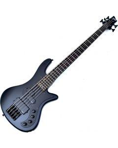 Schecter Stiletto Stealth-5 Electric Bass Satin Black B-Stock 2216 SCHECTER2523.B 2216
