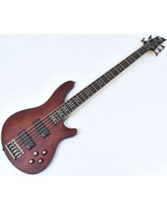 Schecter Omen-5 Electric Bass Walnut Satin B-Stock 1159 sku number SCHECTER2094.B 1159