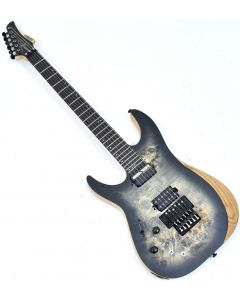 Schecter Reaper-6 FR-S Left Handed Electric Guitar Satin Charcoal Burst B-Stock 1852 sku number SCHECTER1514.B 1852