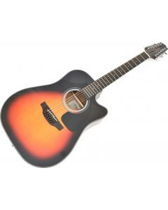 Takamine GD30CE-12BSB Dreadnought Acoustic Electric Guitar Brown Sunburst TAKGD30CE12BSB