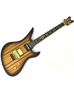 Schecter Synyster Custom-S Electric Guitar Satin Gold Burst B-Stock 3844 sku number SCHECTER1743.B 3844
