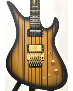 Schecter Synyster Custom-S Electric Guitar Satin Gold Burst B-Stock 0299 sku number SCHECTER1743.B 0299