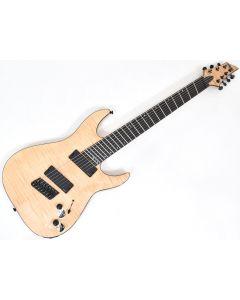 Schecter C-7 Multiscale SLS Elite Electric Guitar Gloss Natural B-Stock 1338 sku number SCHECTER1366.B 1338