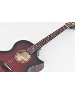 Schecter Orleans Stage Acoustic Guitar Vampyre Red Burst Satin B-Stock 1932 sku number SCHECTER3710.B 1932