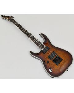ESP LTD MH-1000ET Left-Handed Guitar in Dark Brown Sunburst B-Stock 0492 sku number LMH1000ETFMDBSBLH.B 0492