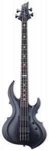 ESP Tom Araya FRX Black Satin Bass w/Case ETARAYAFRXBLKS
