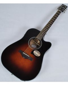 Ibanez AW4000CE-BS Artwood Series Acoustic Electric Guitar in Brown Sunburst High Gloss Finish sku number AW4000CEBS