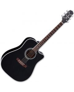 Takamine EF341SC Legacy Series Acoustic Guitar in Gloss Black Finish sku number TAKEF341SC