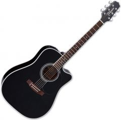 Takamine EF341SC Legacy Series Acoustic Guitar in Gloss Black Finish TAKEF341SC