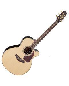 Takamine P5NC Pro Series 5 Cutaway Acoustic Guitar in Natural Gloss Finish sku number TAKP5NC