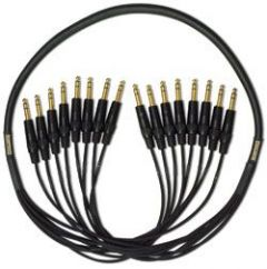 Mogami Gold 8 TRS-TRS Cable 15 ft. GOLD 8 TRSTRS-15
