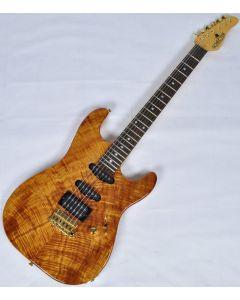 Schecter California Custom Elite Koa Top USA Custom Shop Electric Guitar sku number SCHECTERUCCEKNATGGH