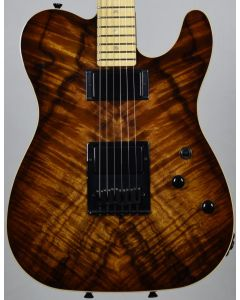Schecter PT Koa Top Vintage Burst USA Custom Shop Electric Guitar sku number SCHECTERUPTKVB