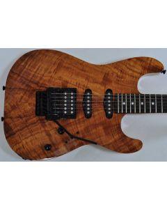 Schecter CET Koa Natural Gloss USA Custom Shop Electric Guitar sku number SCHECTERUCETKNATSD