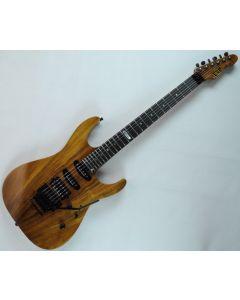 ESP USA M-III Koa Top Electric Guitar in Natural Gloss Finish sku number EUSMIIIKOANATS