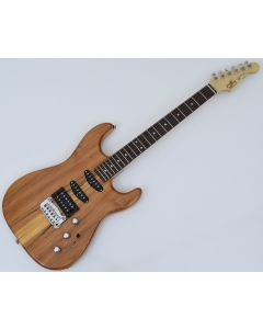 G&L USA Legacy Spalted Alder Top Electric Guitar in Natural Gloss Finish sku number USA LGCYRMC-NAT-RW 9334