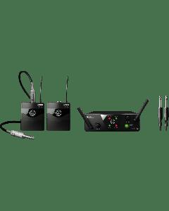 AKG WMS40 Mini Dual Instrumental Set Wireless Microphone System - Band C & D sku number 3351H00060