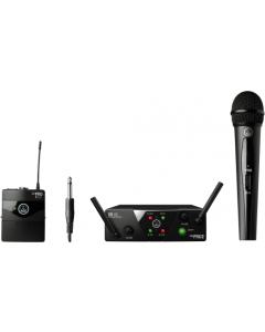 AKG WMS40 Mini Dual Vocal Instrumental Set - Channels C/D sku number 3352X00060