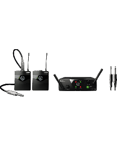 AKG WMS40 Mini Dual Instrumental Set Wireless Microphone System - Band A & B sku number 3351H00020