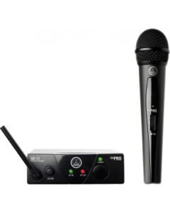 AKG WMS40 Mini Single Vocal Set Wireless Microphone System - Band A sku number 3347X00110