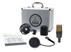AKG C414 XLII Reference Multipattern Condenser Microphone 3059X00060
