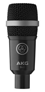 AKG D40 Professional Dynamic Instrument Microphone 2815X00050