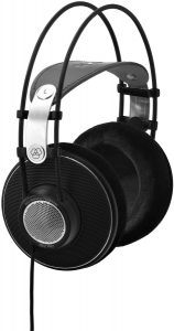 AKG K612 Pro Reference Studio Headphones 2458X00100