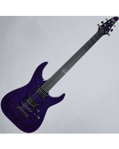 ESP LTD Rob Caggiano RC-600QM Signature Electric Guitar See Thru Purple sku number LRC600QMSTP