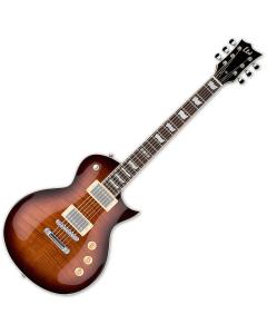 ESP LTD EC-256FM Electric Guitar Dark Brown Sunburst sku number LEC256DBSB