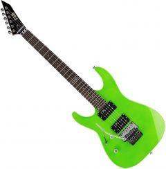 ESP LTD M-50FR Left-Handed Electric Guitar Neon Green LM50FRNGRLH
