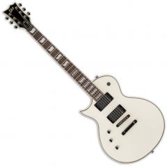ESP LTD EC-401 Left-Handed Electric Guitar Olympic White LEC401OWLH