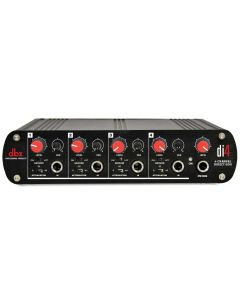 dbx DI4 Active 4 Channel Direct Box with Line Mixer sku number DBXDI4