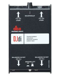 dbx DJD1 2-Channel Passive Direct Box sku number DBXDJDI