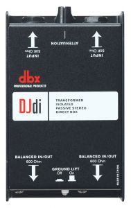 dbx DJD1 2-Channel Passive Direct Box DBXDJDI