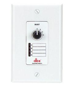 dbx ZC3 Wall-Mounted Zone Controller DBXZC3V