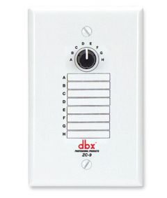 dbx ZC9 Wall Mounted Zone Controller DBXZC9V