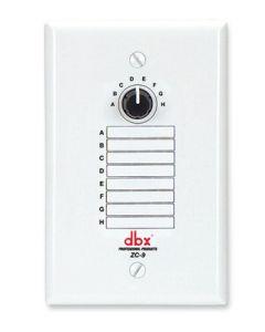 dbx ZC9 Wall Mounted Zone Controller sku number DBXZC9V