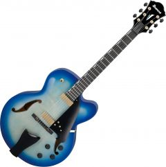 Ibanez Contemporary Archtop AFC155 Hollow Body Electric Guitar Jet Blue Burst AFC155JBB