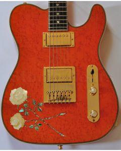 ESP USA Custom Rose Tele Electric Guitar sku number 3097ROSETELE