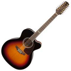 Takamine GJ72CE-12BSB G-Series G70 12 String Acoustic Guitar in Brown Sunburst B-Stock TAKGJ72CE12BSB.B