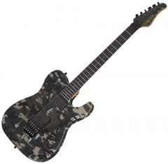Schecter Masterwork PT Custom FR Camo Electric Guitar SCHECTERMWKPTCAMO