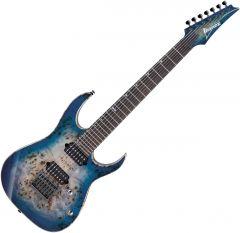 Ibanez RG1027PBF Electric Guitar Cerulean Blue Burst RG1027PBFCBB