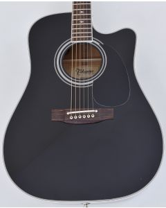 Takamine EF341SC Legacy Series Acoustic Guitar in Black B Stock TAKEF341SC.B